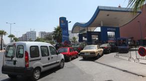Greve Taxi et Station d'Essence a Casablanca 18 juillet 2013
