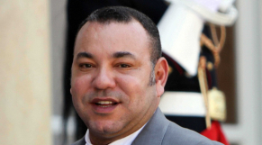 Roi Mohammed VI 2013 - sourire