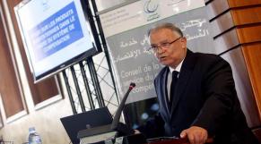 Abdelali Benamour, président du Conseil de la concurrence.