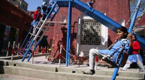 Ecolier enfants urbanisation