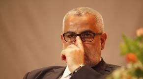 Abdelilah Benkirane - chef du gouvernement PJD - lunettes