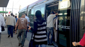 Tramway Casablanca rempli