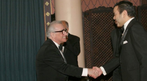 Moulay Rachid et Martin Scorsese
