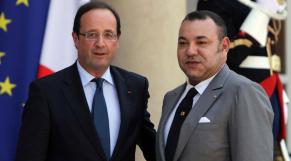 Mohammed VI - François Hollande