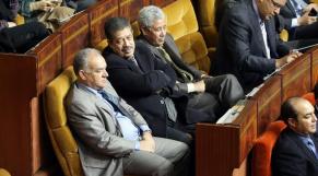 Hamid Chabat au Parlement