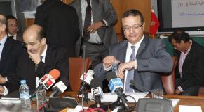 Mohamed Boussaid, ministre de l'Economie et des Finances -
