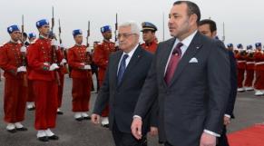Roi Mohammed VI et Mahmoud Abbas