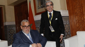 Abdellatif Jouahri (BAM) et Benkirane