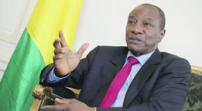 Président guinéen, Alpha Conde