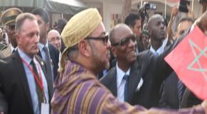 Roi Mohamme VI en Guinée