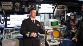 Frégate Lance-missiles Américaine USS (FFG56) au Port de Casablanca 6Mars 2014