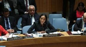 M'barka Bouaida, ministre déléguée aux Affaires étrangères.