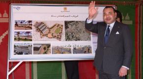 roi Mohammed VI Tanger mars 2014
