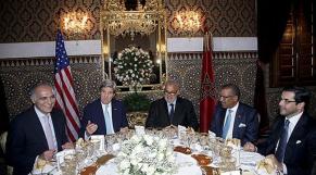 John Kerry au Maroc 3 avril 2014