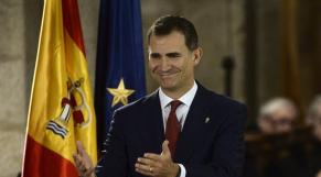 Felipe VI roi D'Espag,e