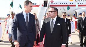 Felipe VI et Mohammed VI