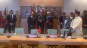 Accord de coopération entre les Parlements d'Amérique centrale et du Maroc