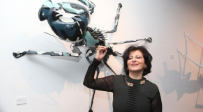 Galerie  38 Casablanca 16 Decembre 2014   Vernissage Fathiya Tahiri