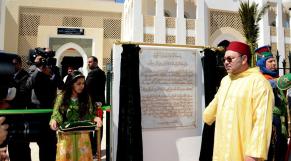 Roi-inauguration-Institut Mohammed VI de formation des Imams, morchidines et morchidates2