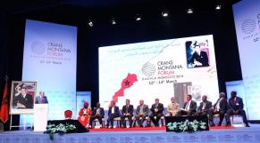 Forum de Crans Montana Dakhla 13 Mars 2015