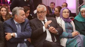 Mohamed Nabil Benabdellah et Mr et Mme Abdelilah Benkirane
