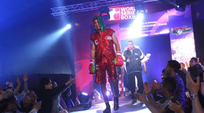 Mohamed Rabii,Maroc 69kg.