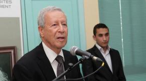 Rachid Belmokhtar, ministre de l'éducation nationale et de la formation professionnelle.