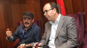 Ilyas El Omari et Hakim Benchemass