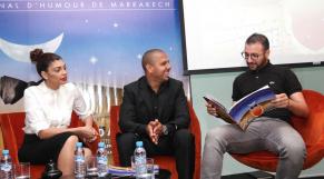 Nawell MADANI.Karim Debbouze et Eko.