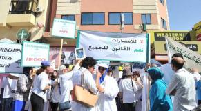 Grogne des pharmaciens de Casablanca2