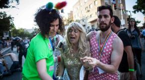 Gay pide attak jerusalem