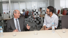<et si on se disait tout>Abdeslam Seddiki , ministre de l'emploi et des affaires sociales, Casablanca 29 Juillet 2015.