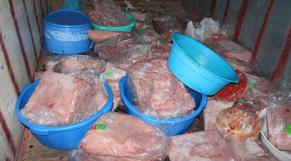 15 tonnes de viandes avariées saisies par le BCIJ4