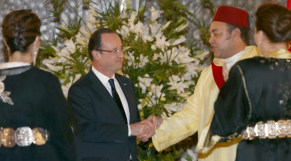 Mohammed VI-Hollande