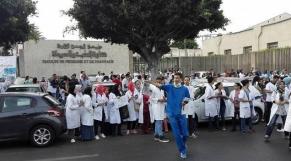 grève étudiants médecine