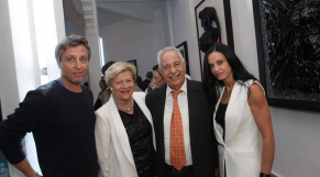 Alban Corbier Labasse, directeur IFC.Mme Bouhlal. Ahmed El Biaz et Radia Biaz Lahlou