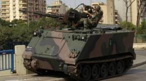 armée liban intevention