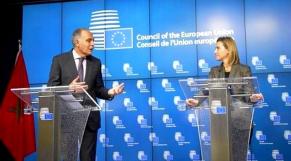 Mogherini et Mezouar