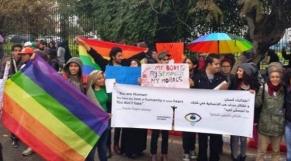 manif homos tunisiens