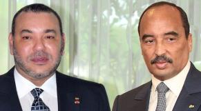 Mohammed VI-Ould Abdelaziz