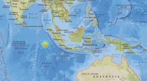 indonésie tremblement de terre