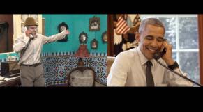 Obama, grand comique