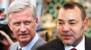 Mohammed VI et le roi Philippe