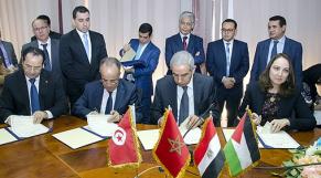 Les ministres du Commerce des pays membres du ''Protocole d'Agadir''