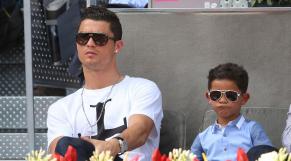 Ronaldo et son fils