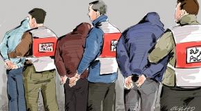 Arrestation de bande criminelle