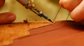 Chaussure cuir