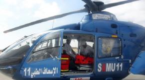 Hélicoptère médicalisé
