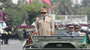 Roi chef suprême chef d'état-ùajor des FAR