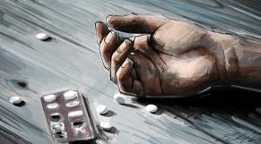 Tentative de suicide-Dessin